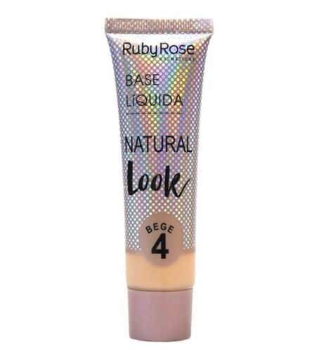 Base Líquida Natural Look Bege 4 - Ruby Rose