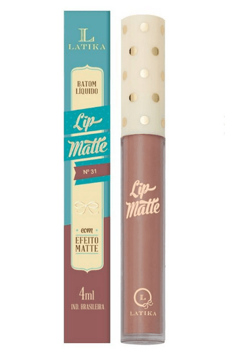 Batom Líquido Lip Matte Cor 31 - Latika