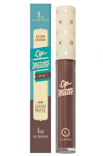 Batom Líquido Lip Matte Cor 32 - Latika