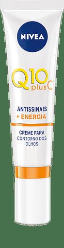 Creme Facial para Área dos Olhos Q10 Plus C Antissinais - NIVEA