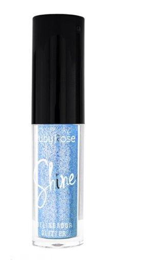 Delineador Glitter Shine Azul - Ruby Rose