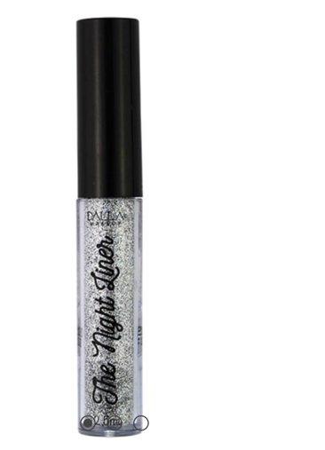Delineador Líquido Glitter Holográfico The Night Liner Dalla Makeup
