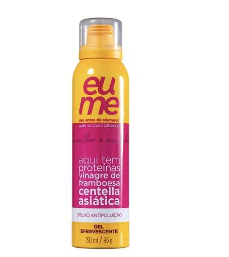 Eume Brilho Antipoluição Gel Efervescente - Pré-Shampoo 150ml