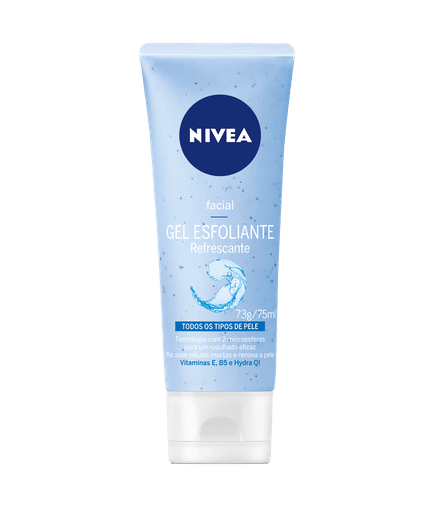 Gel Esfoliante Facial Refrescante 75ml - Nivea