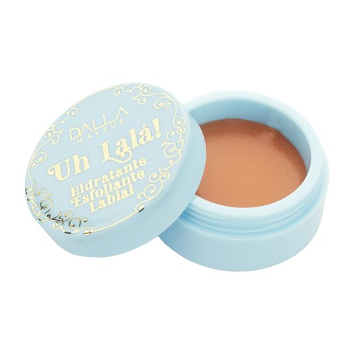 Hidratante e Esfoliante Labial Uh Lalá! Caramel Pudding - Dalla Makeup