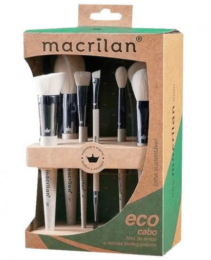 Kit Eco SK100 com 7 Pincéis - Macrilan