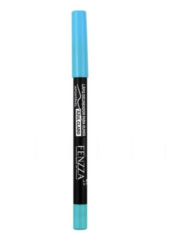 Lápis Delineador Colorido A Prova D'água Fenzza - Azul Claro