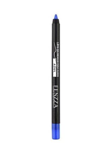 Lápis Delineador Para Olho Colorido Azul Fenzza