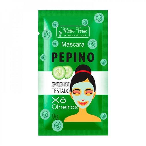 Máscara de Pepino Xô Olheiras - Matto Verde