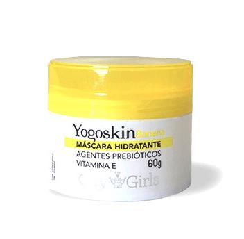 Máscara Hidratante Pré-make Yogoskin Banana - City Girls