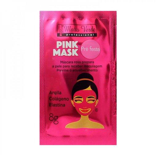 Máscara Pink Mask Pré Festa - Matto Verde