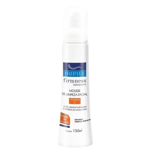 Mousse de Limpeza Facial Firmness Intesive Vitamina C - Nupill