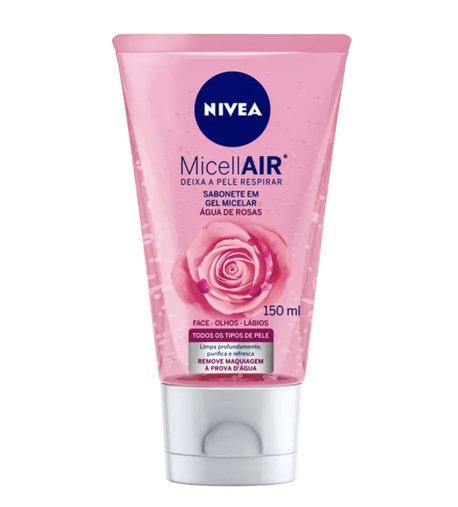 NIVEA MicellAIR Água de Rosas - Sabonete Facial 150ml
