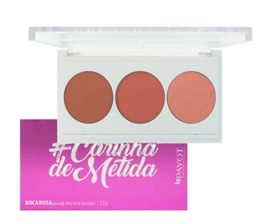 Paleta de Blushes #Carinhademetida Boca Rosa Beauty - Payot