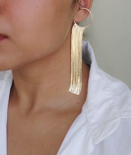 Piercing Fake Correntaria Dourado