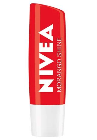 Protetor Labial Morango Shine - Nivea