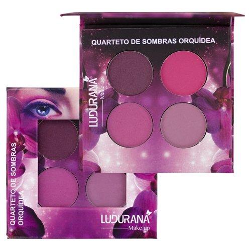Quarteto de Sombras Orquídea - Ludurana