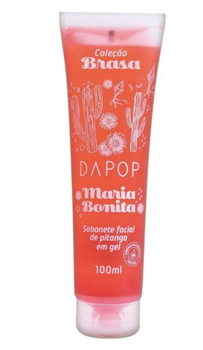 Sabonete Facial Pitanga em Gel Maria Bonita - DaPop