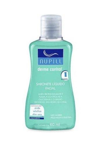 Sabonete Líquido Facial Derme Control Nupill 60ml